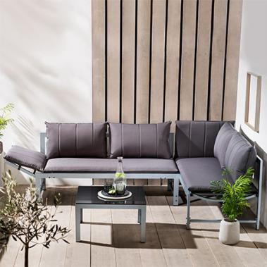 Aluminium Lounge Set
