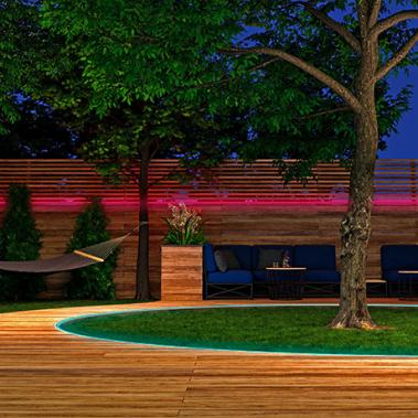Smarter Outdoor LED-Strip White + Color