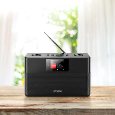 Smart Internet-Radio CR-ST100S Schwarz