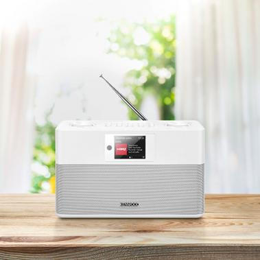 Smart Internet-Radio CR-ST100S Weiß