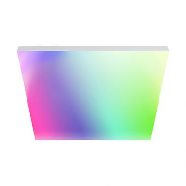 Smartes tint LED-Panel Aris, white + color, 45 x 45cm