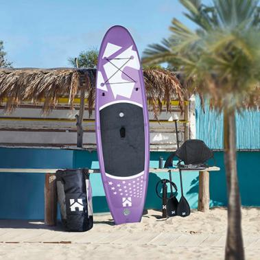 Stand Up Paddle Board 366 cm Lila