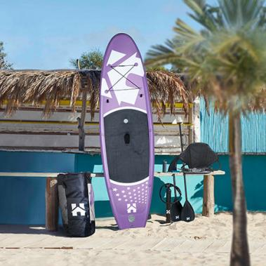 Stand Up Paddle Board 305 cm Lila