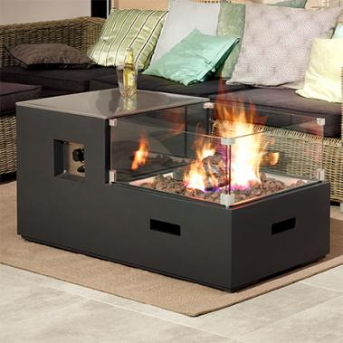 Gaskamin Compact Lounge Table Anthrazit